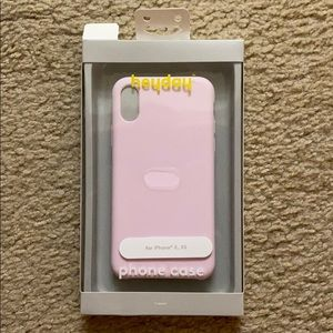 Pink iPhone X/Xs heyday Case
